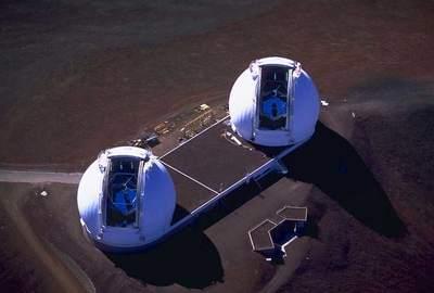 Teleskopy Keck iKeck II