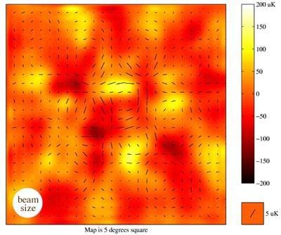Polaryzacja mikrofalowego promieniowania tła