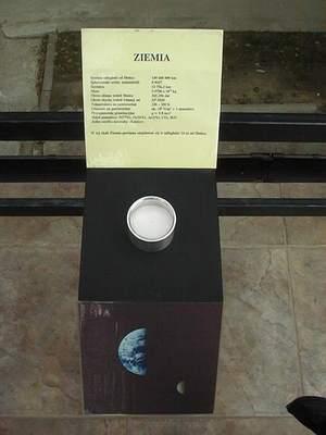Model Układu Słonecznego wCAMK