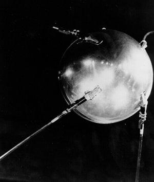 Sputnik 1 - pierwsze zwycięstwo ZSRR