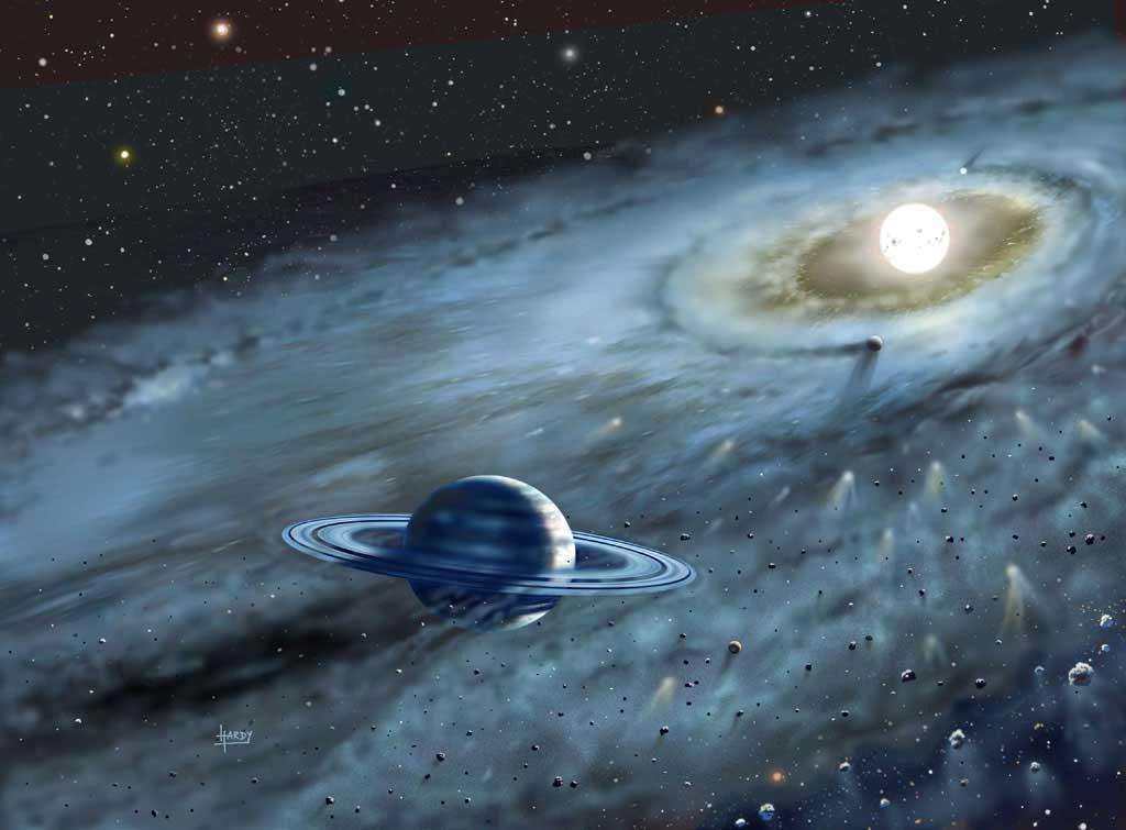 Planeta wokół Fomalhauta