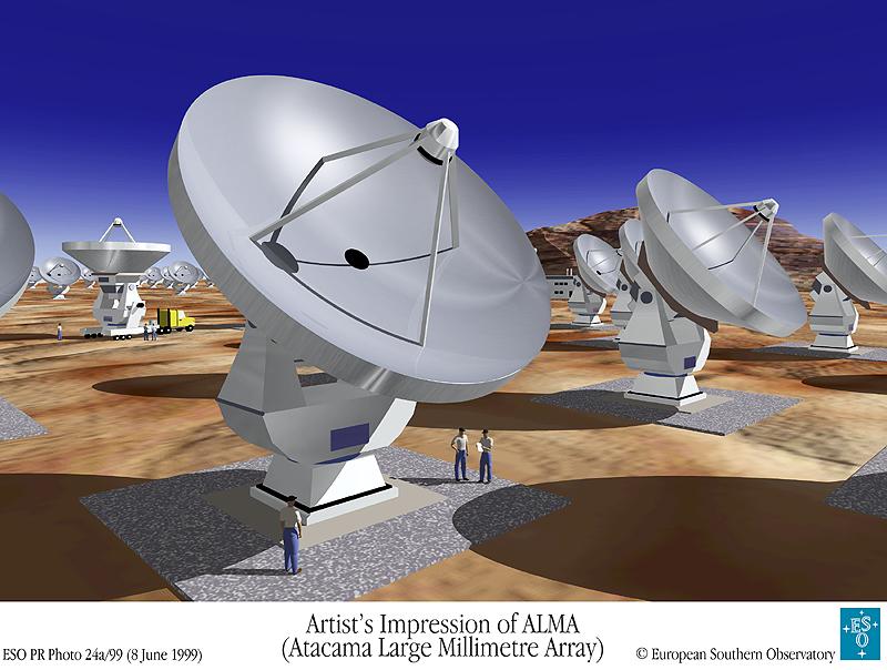Radioteleskop ALMA