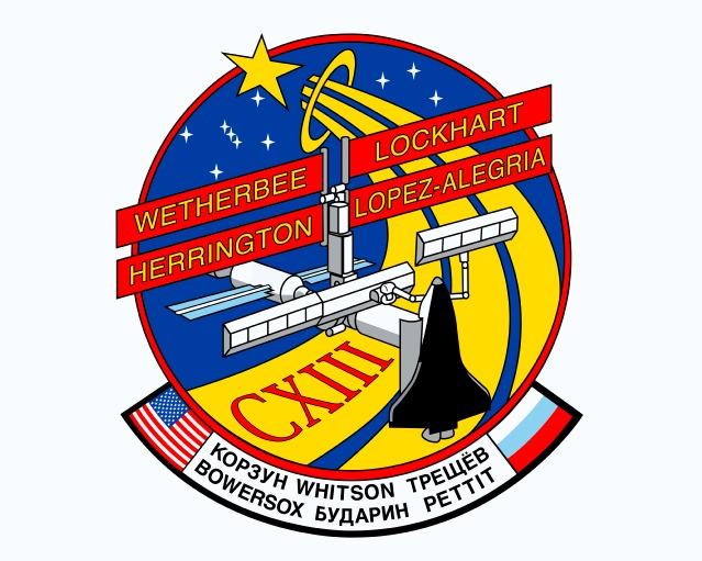Logo misji STS-113