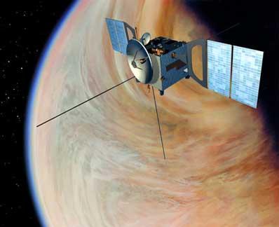 Wizja artystyczna sondy Venus Express