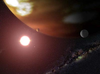 Gliese 876 i jej planeta