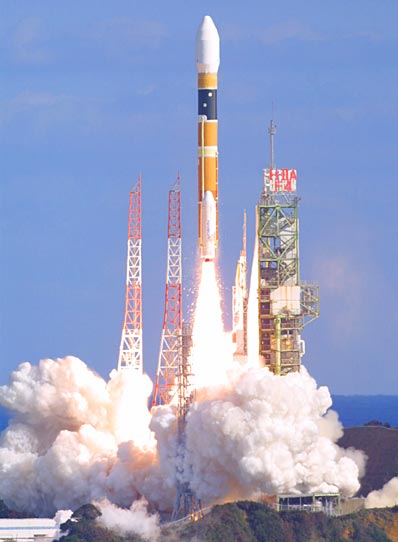 H2-A z satelitą ADEOS-II leci na orbitę