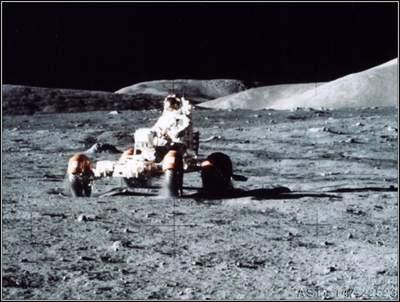 Ostatni pilotowany samochód naKsiężycu