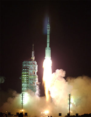 Start Shenzhou-4