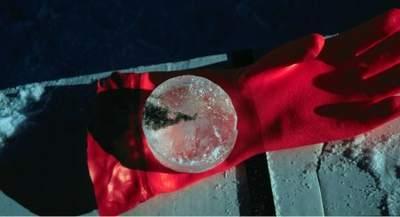 Fragment rdzenia lodowego