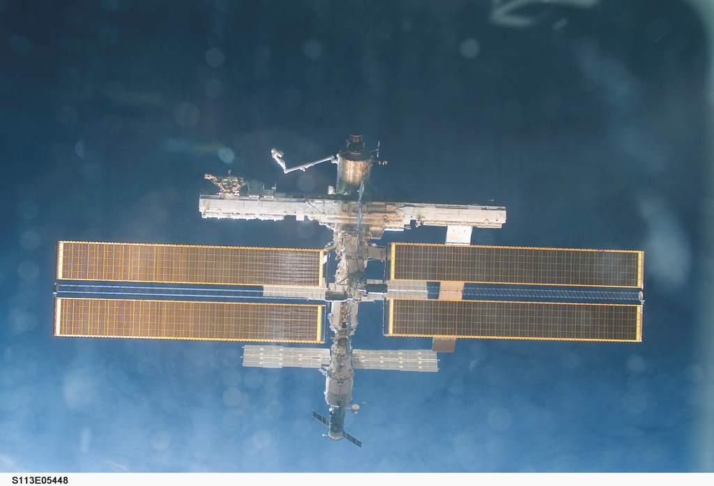 Stacja Kosmiczna po misji STS-113