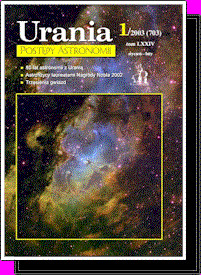 """Urania - Postępy Astronomii"" 1/2003"
