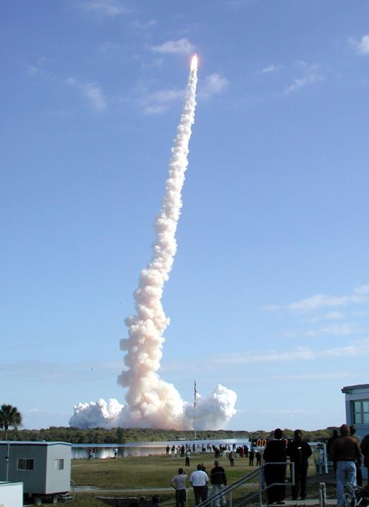 Start Columbii do misji STS-107