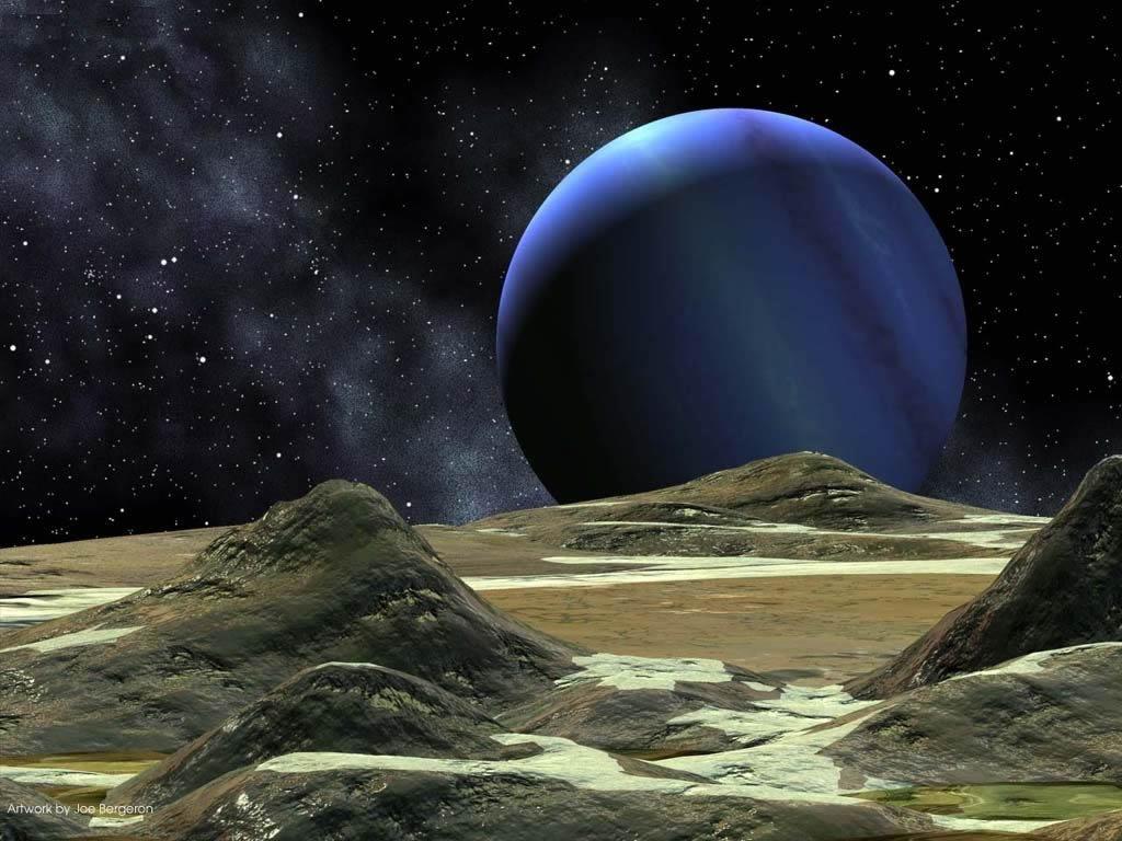 Artystyczna wizja planety