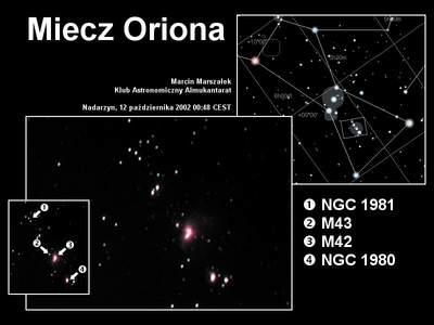 Miecz Oriona, 12 października 2002 godzina 00:48