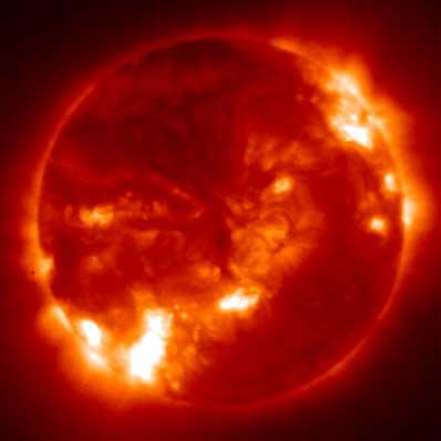 Słońce według GOES