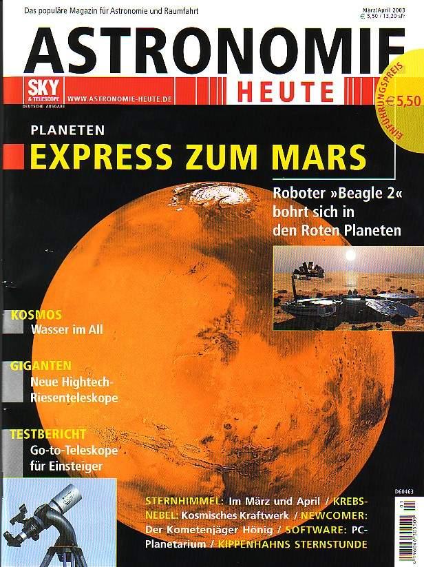 Okładka Astronomie Heute