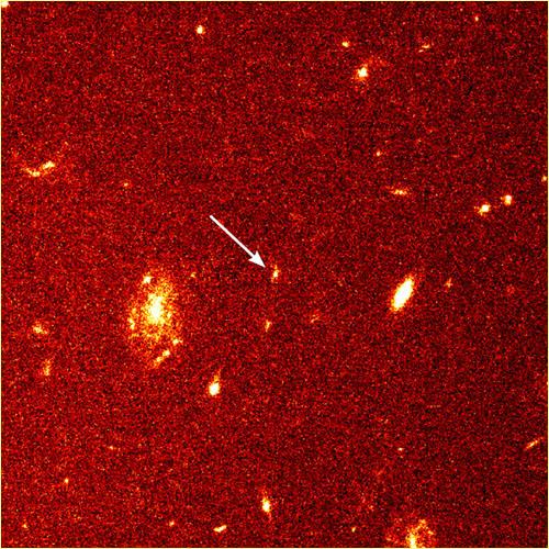 GRB 971417 po błysku gamma