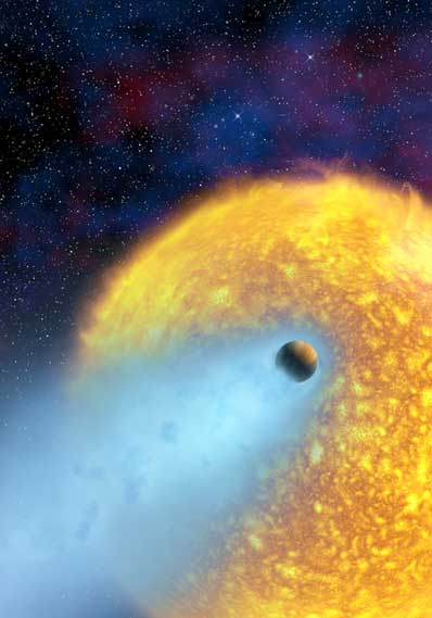 Parująca atmosfera HD 209458b
