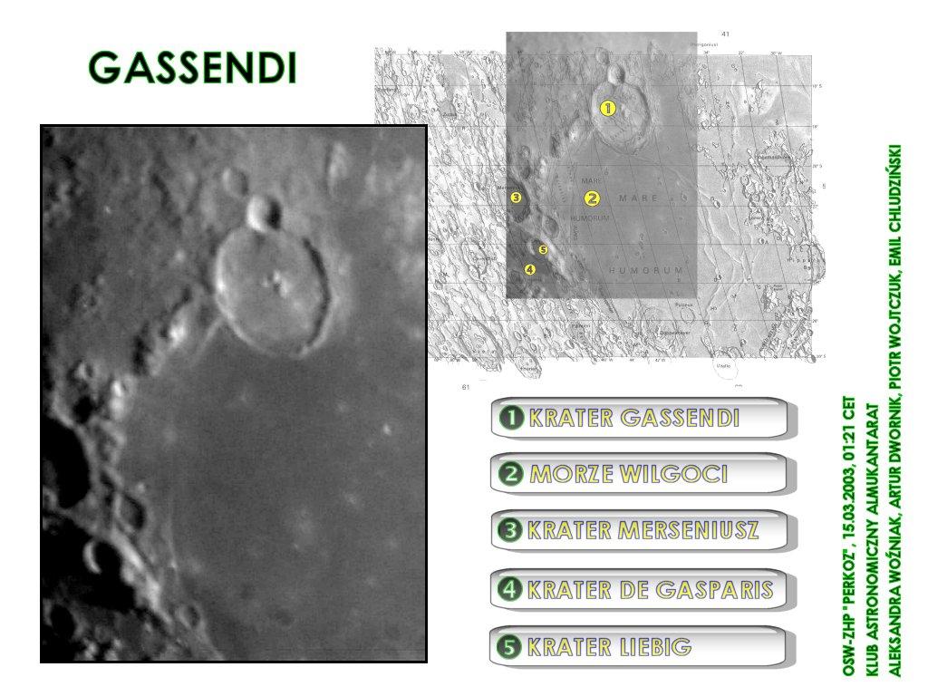 Krater Gassendi