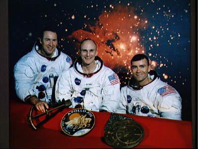 Pierwotny skład załogi Apollo 13