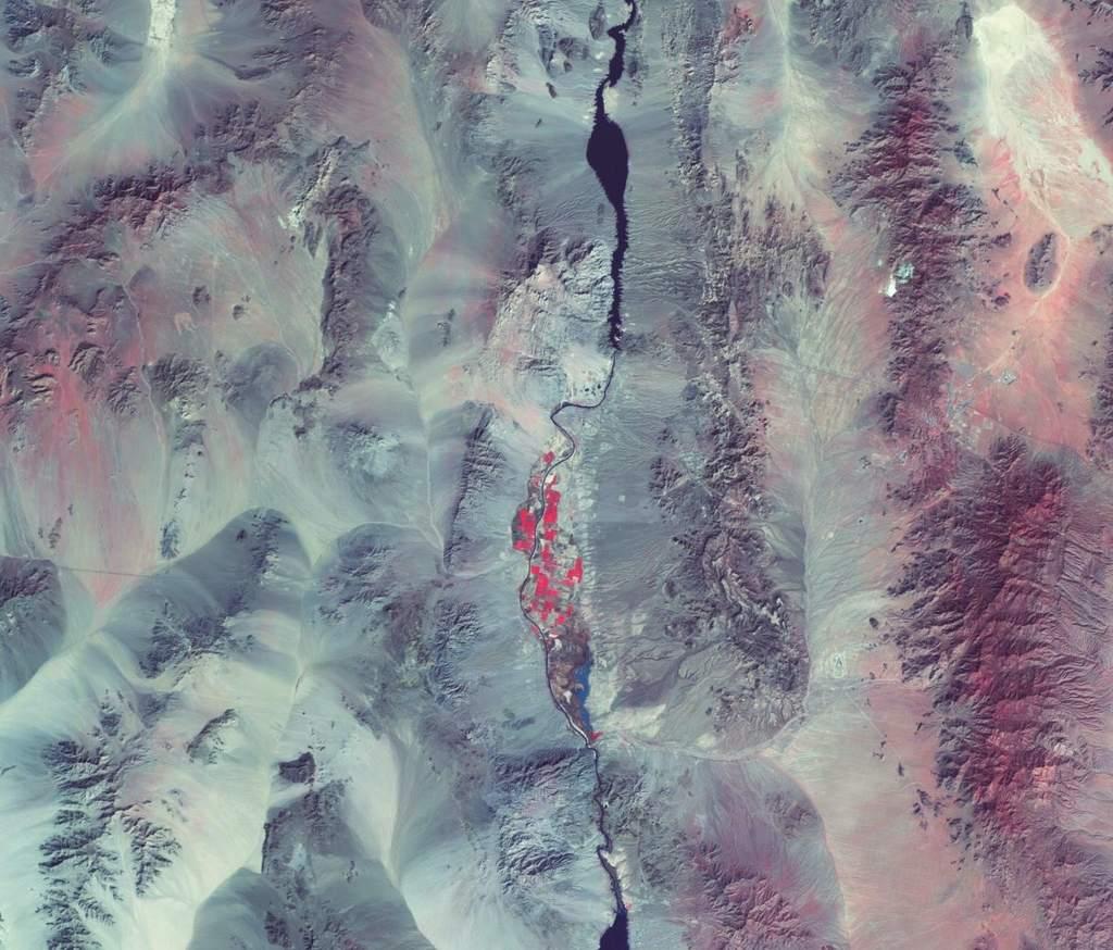 Rzeka Kolorado z AlSat-1