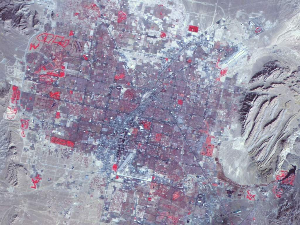 Las Vegas z AlSat-1