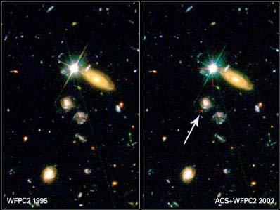Bardzo odległa supernowa