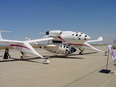 White Knight i SpaceShipOne