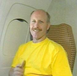 Kenneth Bowersox po powrocie na Ziemię