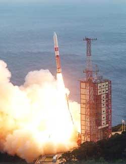 Start rakiety M-5