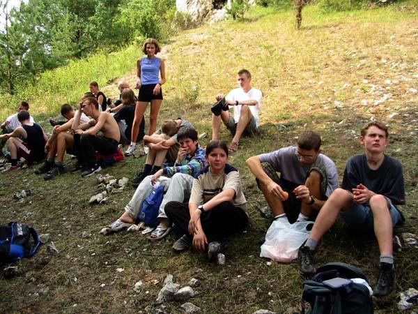 Obóz 2002 - wycieczka do Rezerwatu Węże
