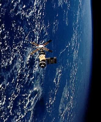 Stacja Skylab wczasie misji Skylab-2