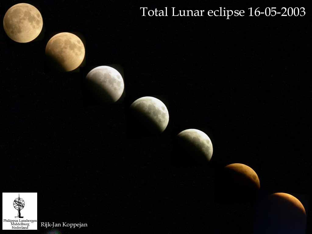 Zaćmienie Księżyca 16 maja 2003 (I)