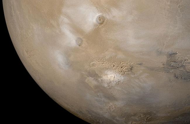 Mgły na Marsie