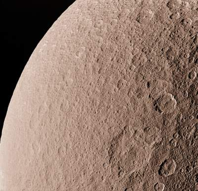 Rea - drugi co dowielkości księżyc Saturna