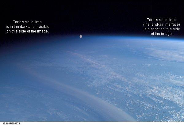Złudzenie - Księżyc przed atmosferą (I)