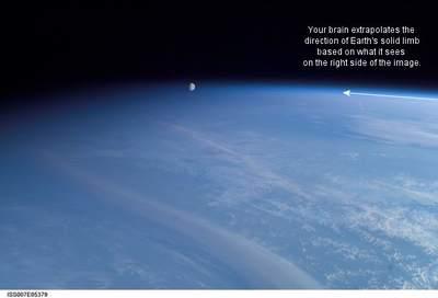 Złudzenie - Księżyc przedatmosferą (II)