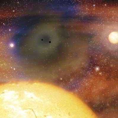 Centrum galaktyki eliptycznej