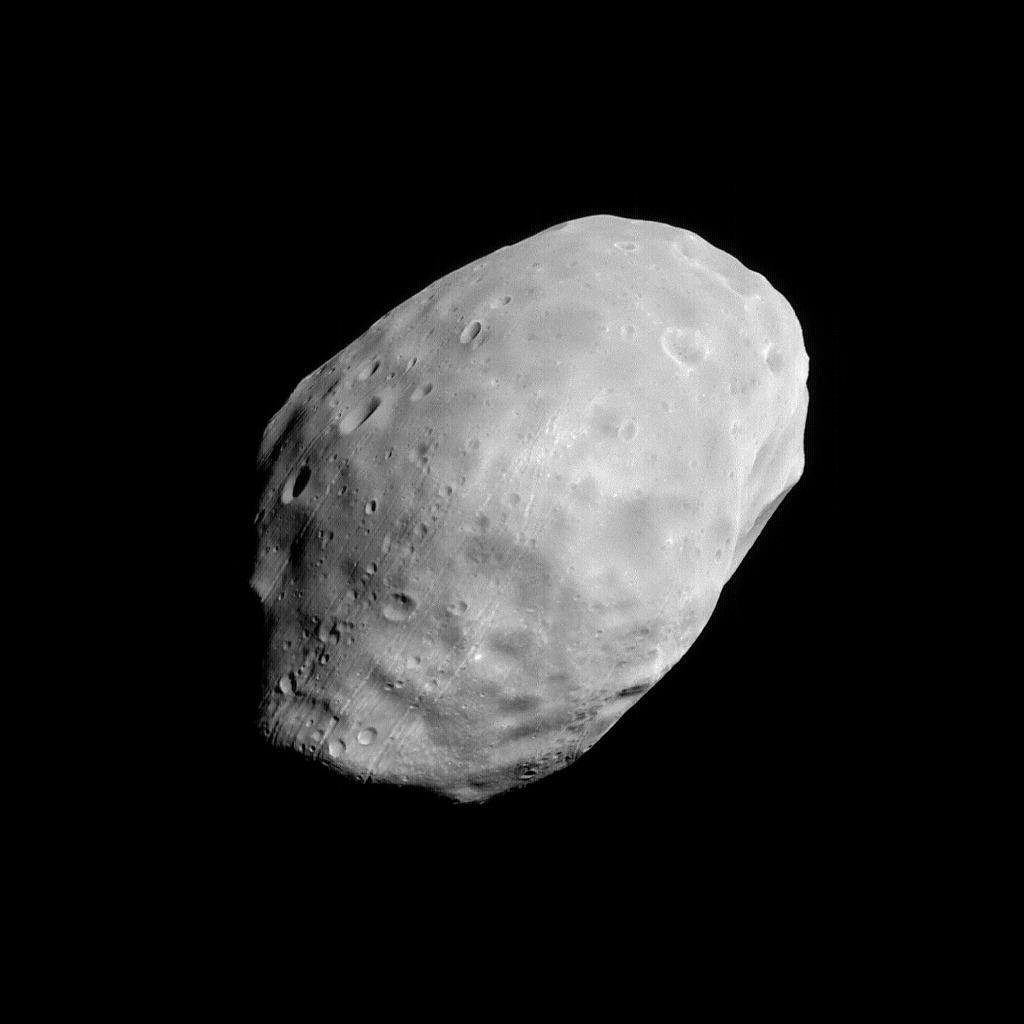 Fobos - Księżyc Marsa