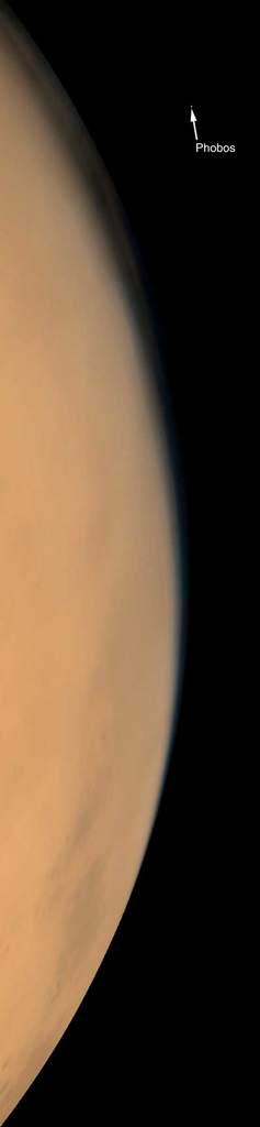 Mars ijego Księżyc Fobos
