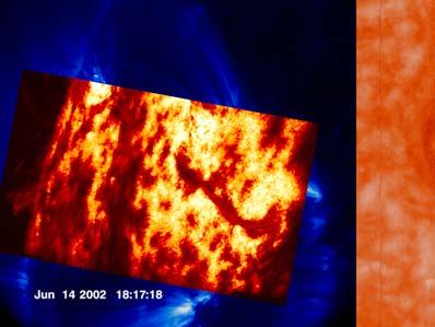 Powierzchnia Słońca z 14 czerwca 2003 roku