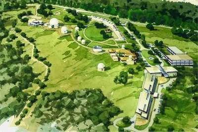 Plan odbudowy Mount Stromlo