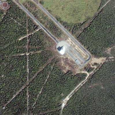 Brazylijskie stanowisko startowe we wrześniu 2001 roku