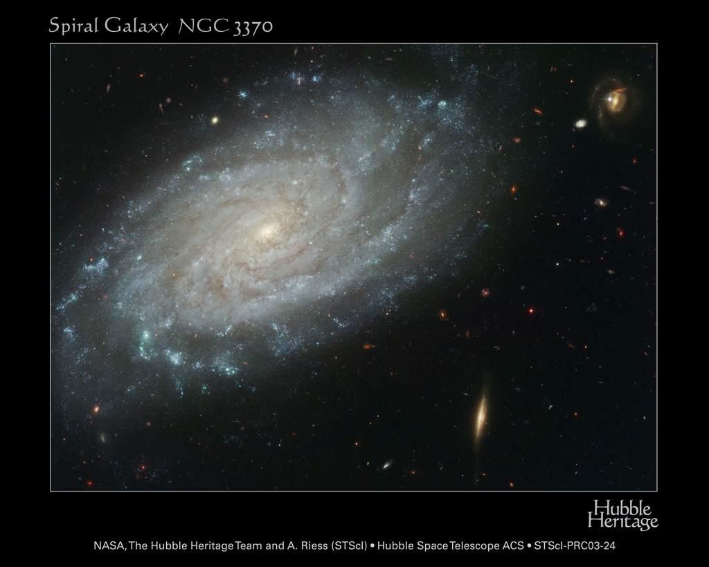 Galaktyka NGC 3370