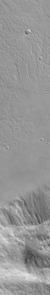 Krater naPavonis Mons