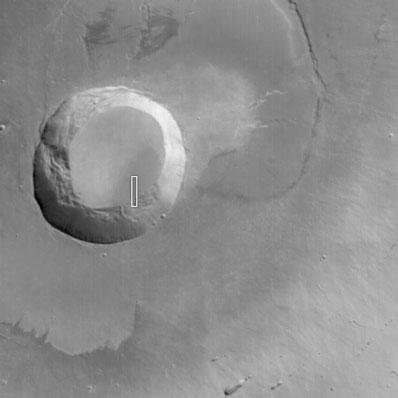 Wulkan Pavonis Mons