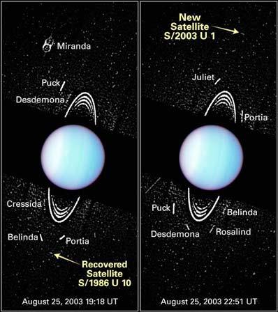 Nowe księżyce Urana