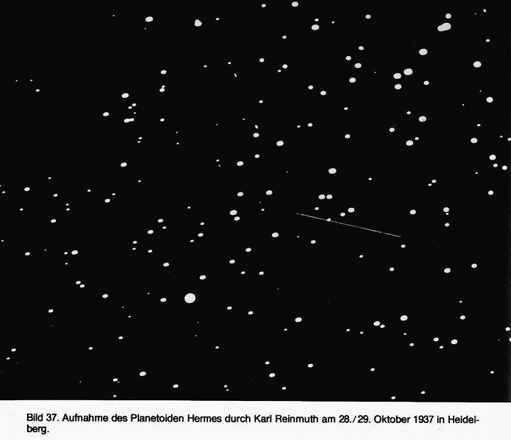 Planetoida Hermes, rok 1937