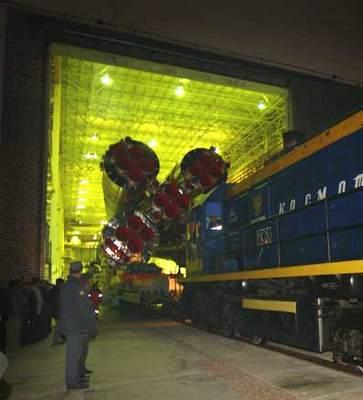 Sojuz - przygotowania dostartu (I)