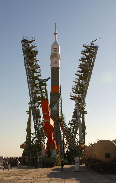 Sojuz - przygotowania do startu (XVI)